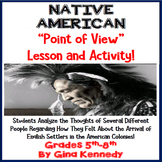 Learn Through the Eyes of a Native American, Point of View Reading Lesson