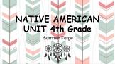 Native American Thematic Unit