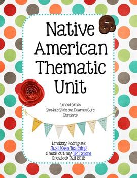 Native American Thematic Unit- mini-lessons, Social Studies, Lesson Plans