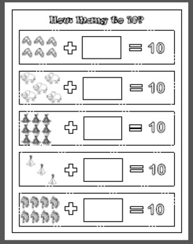 Native American Themed Math Pack