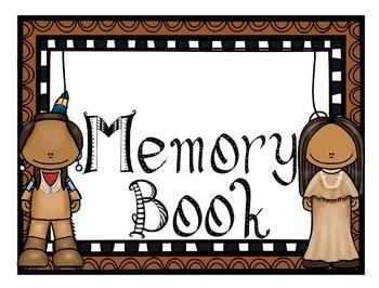 Memory Book Native American Theme