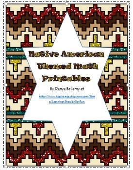 Native American Themed Printables