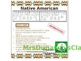 Native American Timeline