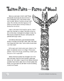 Native American Totem Poles: U.S. History Reading and Activities for Grades 4-6