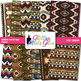 Native American Paper {Scrapbook Backgrounds for Task Card