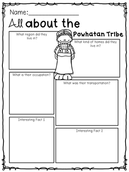 Native American Tribe Research