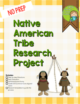 Native American Tribe Research Project