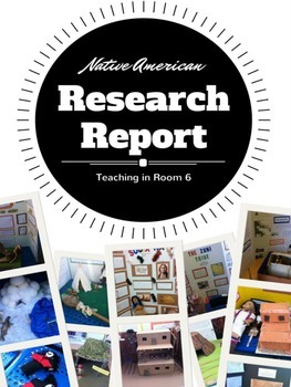 native american tribe research report project no prep by