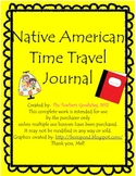 Native American Tribe Time Travel Journal Unit