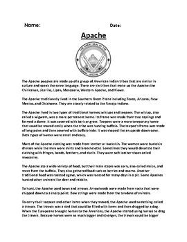 Native American Tribe Unit