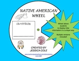 Native American Tribe Wheel (multiple versions)