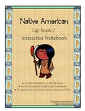 Native American Tribe lap book or interactive notebook