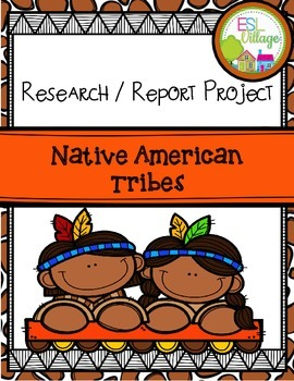 Native American Tribes {Research / Report Project}
