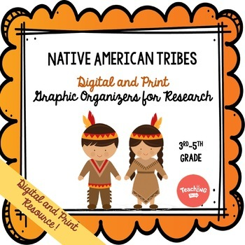 Native American Tribes Graphic Organizer