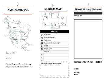 Native American Tribes Museum Brochure