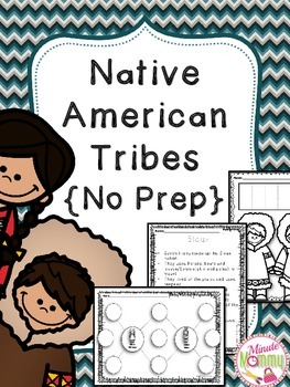 Native American Tribes {No Prep}