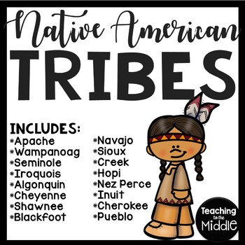 Native American Tribes Reading Comprehension Worksheets 16 tribes