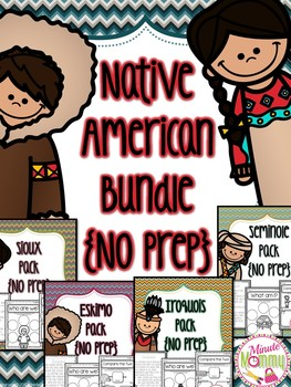 Native American Tribes and Homes Bundle