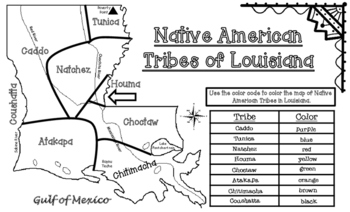 Native American Tribes of Louisiana