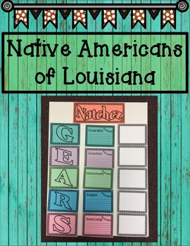 Native American Tribes of Louisiana Research Project