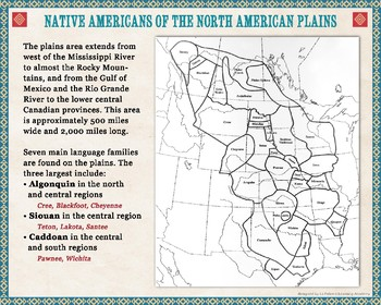 Native American Tribes of the North American Plains
