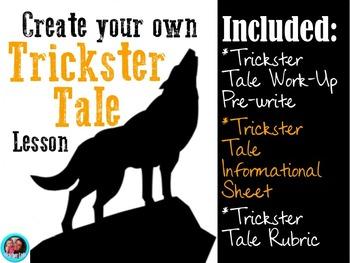 Native American Literature- Fun Trickster Tale Activity!