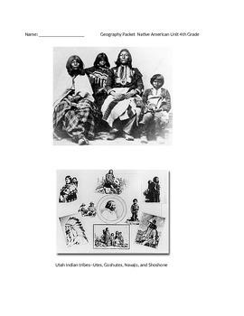 Native American Unit 4th Grade