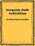 Native American Unit Activities