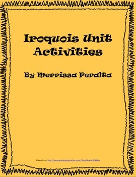 Native American Unit Activities