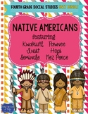 Social Studies - Native American Indian Unit Bundle & Assessments and Activities