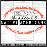 Native American Unit- Common Core Aligned