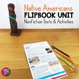 Native Americans Unit: Informational Texts, Maps, & Activi