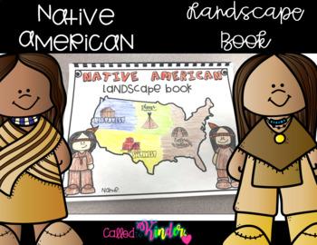 Native American Unit Landscape Book Craft