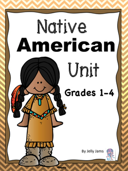 Native American Unit with Informational Text-  By JellyJam