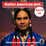 Native American Unit for Special Education