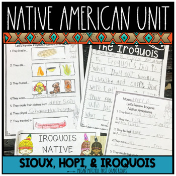 Native American Unit for  Primary Child