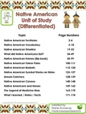 Native American Unit of Study (BUNDLED)