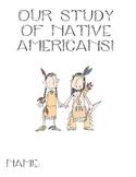 Native American Unit using trade books
