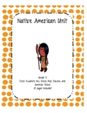 Native American Unit with activities