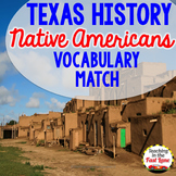 Native American Vocabulary Match Up