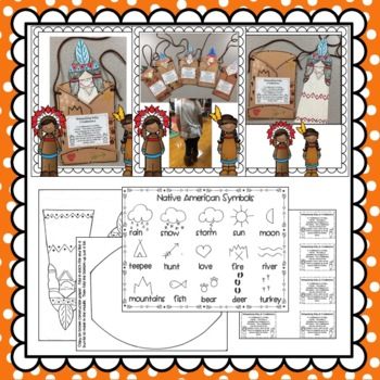 Native American Wampanoag Baby & Cradleboard: Fall Crafts: Thanksgiving Crafts
