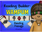 Native American Comprehension Passage Main Idea Vocabulary