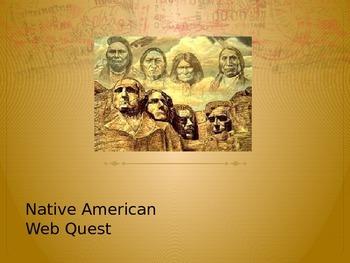 Native American Web Quest
