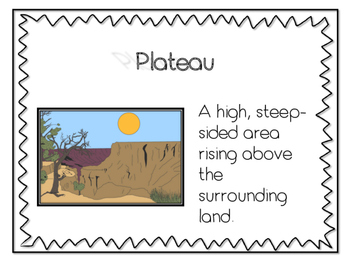 Native American Word Work Anchor Charts for Georgia Standards