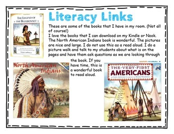 Native American Writing and Craft Unit ~ Vocabulary ~ Graphic Organizers