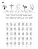 Native American and Alaskan Native Culture: Crossword Puzz