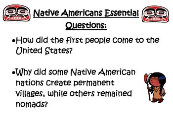 Native American and European Explorers Poster Pack and Graphic Organizers