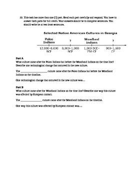Native American and European Quiz