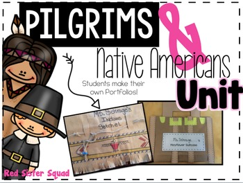 Native American and Pilgrims Writing Unit
