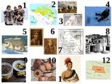 Native American calendar pattern